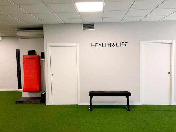 Instalaciones Entrenamiento Health&Life - Centro de Readaptación y Deporte en Madrid