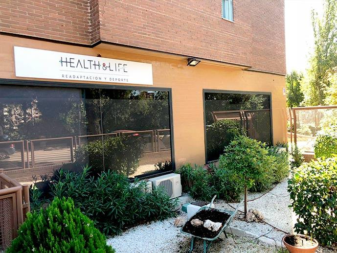 Health&Life - Centro de Readaptación y Deporte en Madrid